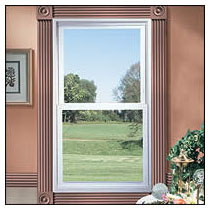 taylor door 5100 series windows, residential double hung windows