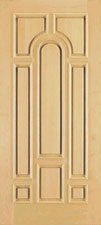 clear finish wood doors, maple wood doors for sale