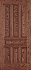 red oak wood door, taylor door E0403