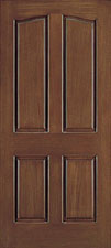 genuine mahogany doors cherry finish, taylor door E044C doors
