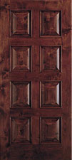 taylor door E1208 doors, interior wooden cherry finish E1208 doors