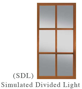 entry doors simulated divided light, taylor door