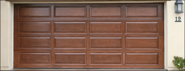 Clopay Model 44 Raised Panel Wood Doors Garage Door
