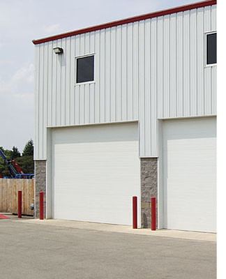 taylor door thermally-broken steel doors, commercial doors