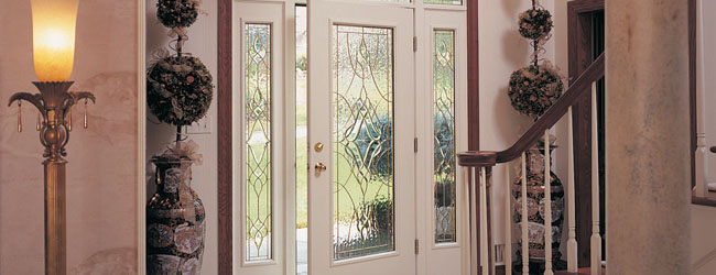 Do You Have A Glass Front Door? Your Glass Front Door Probably Has A Glass  Insert. Through The Years, The Glass Insert In Your Door Might Have Signs  Of ...