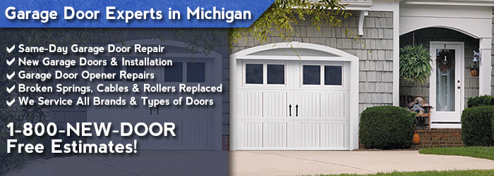 Detroit MI Garage Door Repair Services